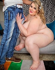 BBW beauty Mandy Majestic is back, and there's only one thing on her mind: finding the biggest dick she can get her hands, mouth, and pussy on! L