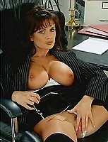 Secretary Teresa May In Black Stockings