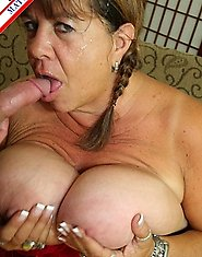 This big breasted mature housewife is ready for cock