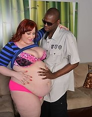 Eliza Allure is making her return to Plumper Pass and she's bigger than ever. This BBW pornstar is a bunch of months pregnant and her tits and be