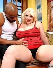 Scarlette Rouge is one of those BBWs that loves herself a great bangin! Watch her get herself fucked hard with the lovely huge black mandingo cock she